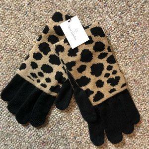 🆕 Vera Bradley Cozy Knit Tech Gloves Leopard